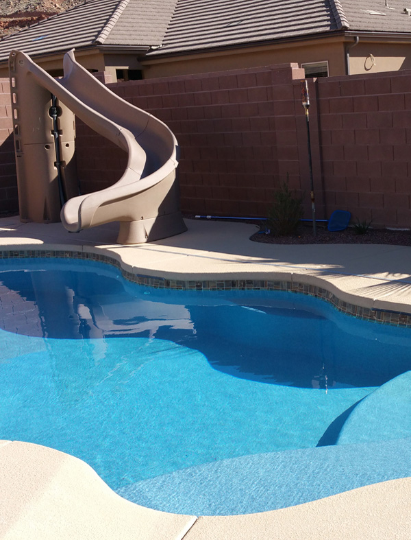 Paradise design pool and spa inground pools st george ut for Pool design utah