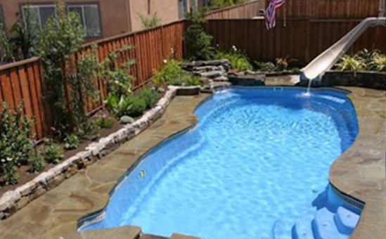 Paradise design pool and spa pool designs st george ut for Quality pool design