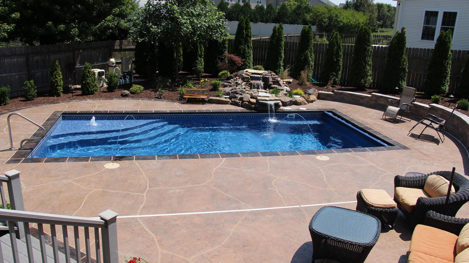 Viking Pools Paradise Design Pool And Spa St George Ut